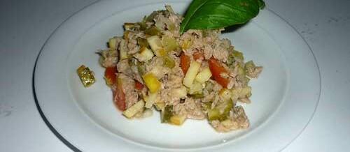 Thunfischsalat fettfrei schnell und lecker